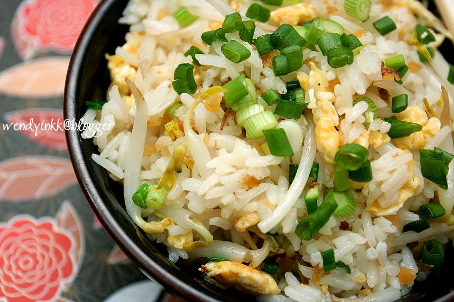 Table for 2 or more salted fish fried rice for Fish fried rice