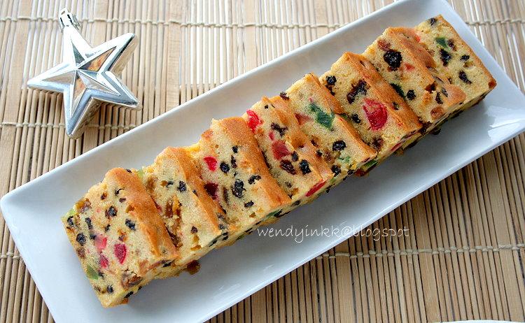 Grand Marnier Fruit Cake Recipe