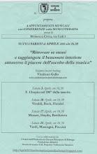 Musicoterapia in Biblioteca a SanRemo Vitaliano Gallo