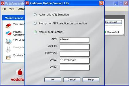 Vodafone broadband modem connection issues and their customer service
