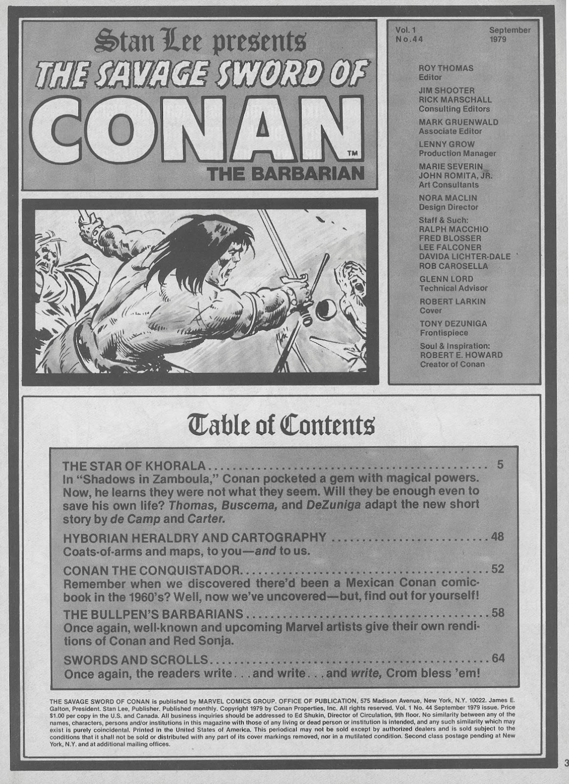 The Savage Sword Of Conan Issue #44 #45 - English 3