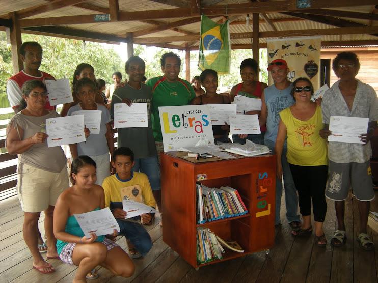 Agentes de Leitura da Reserva Extrativista do Rio Cajari/AMAPÁ
