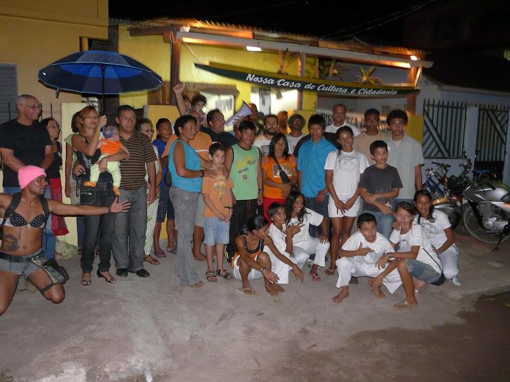 18/03/2009 - Inauguração da Biblioteca-mãe BArca das Letras - Macapá/AP