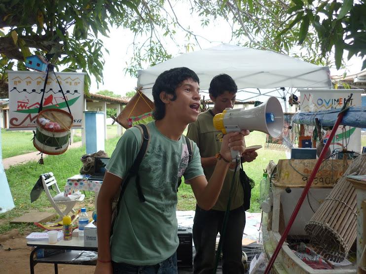Rádio NossaCasa Amazônia com jovem estudante da UNIFAP e blogueiro Randerson Lobato