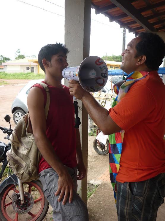 Rádio NossaCasa Amazônia botando a galera pra falar o que tá oprimindo