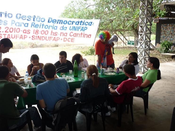 Rádio NossaCasa Amazônia, estimulando o debate na UNIFAP