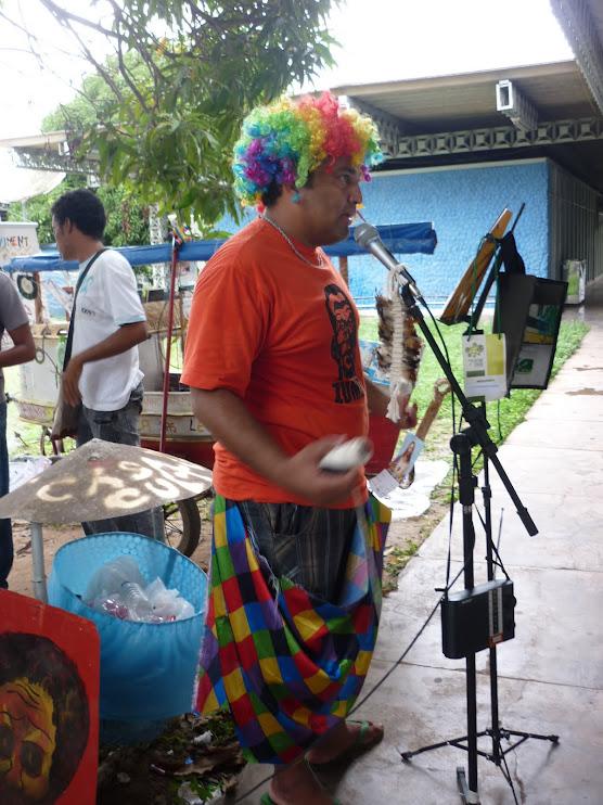 Promovendo Roda de Leitura na Feira Cultural da UNIFAP