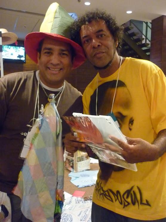 GOG, grande ativista social por meio do hip hop, participou ativamente da Rádi@ NossaCas@ Amazônia