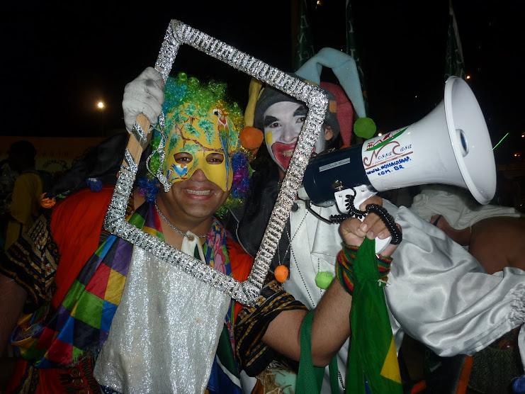 Dois palhaços do Amapá, da Amazônia na TEIA 2010