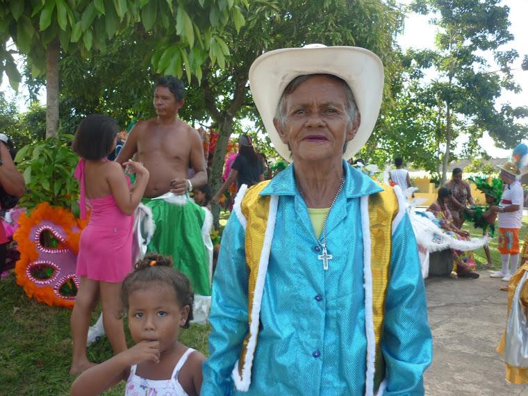 Mestra da CUltura Popular Amazônica - Boi Pai Malhadinho