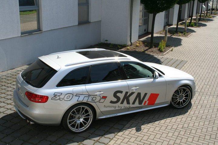 Audi A4 Avant 3 0 Tdi By Skn Tuning 160 Mph Bahn