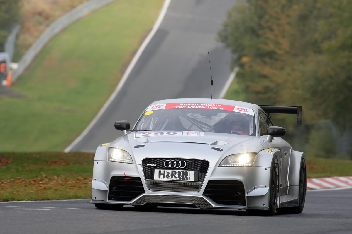 Audi TT-RS race car update: 2