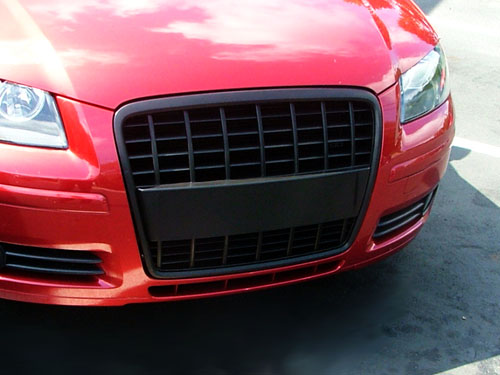new audi a3 and a4 grille upgrades from. Black Bedroom Furniture Sets. Home Design Ideas