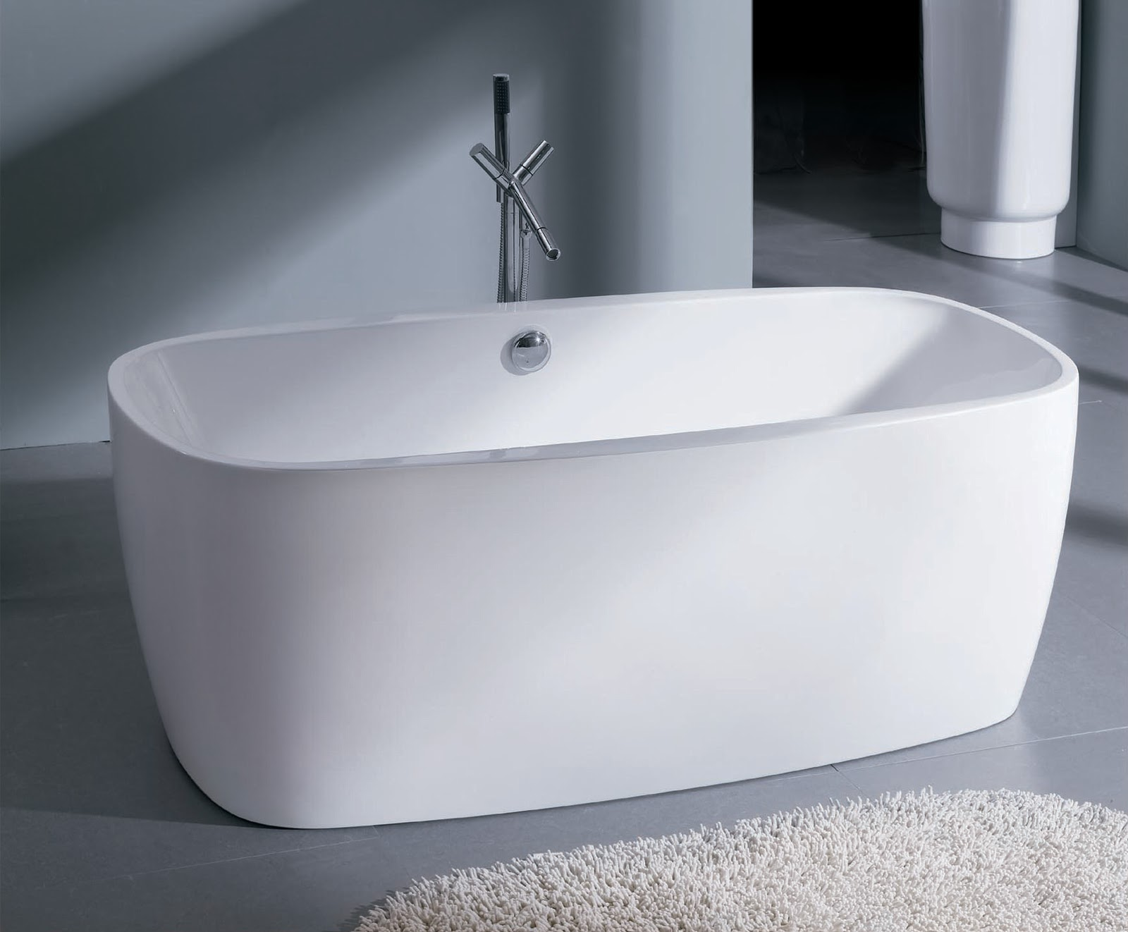 Tub of the week acrylic soaking tub premier bathtubs for Acrylic soaker tub