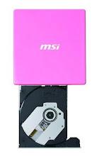 MSI U0800 Ultra Slim External DVD Writer