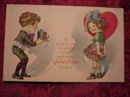 A Vintage Valentine Greeting