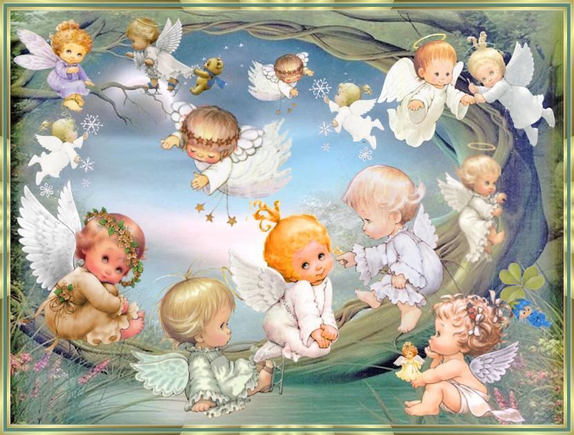 MIS LINDOS ANGELITOS
