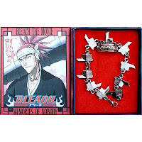 Renji Bleach Bracelet Ring set
