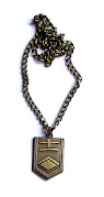 Bleach Emblem Necklace : 11th Division