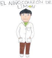 foto de Escribe Calisto: ¡Primer dibujo del niño corazón de limón