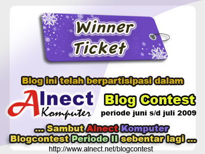 kontes blog, pemenang
