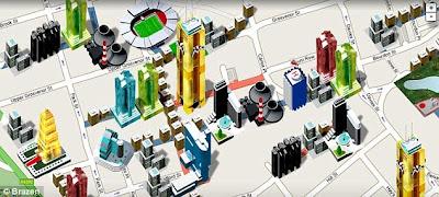 Maen Monopoli dengan Google Maps