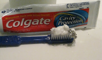 how to clean wedding ring with toothpaste