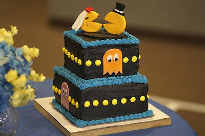 The Pacman Wedding Cake