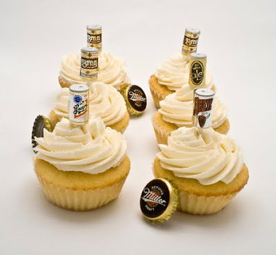 Beer Can Cupcakes