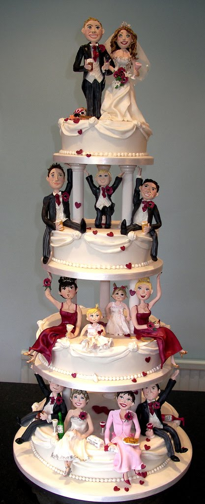 27 unique wedding cakes austin wedding blog. Black Bedroom Furniture Sets. Home Design Ideas