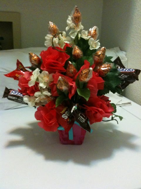 Jens Wedding Flowers: Fun with candy and flowers. Hershey kiss ...