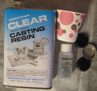 Scraps of darkness and scraps of elegance scrap caps tutorial for Castin craft clear resin