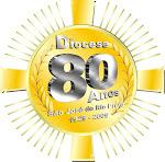 Logo comemorativo dos 80 anos