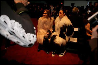 barky bark, fashion, marc jacobs, fall 2009, carine roitfeld, yeti, creature, fashion blog, funny, New York Fashion week