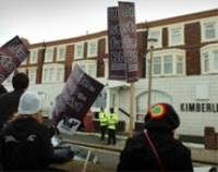 Demo against BNP Conference in Blackpool