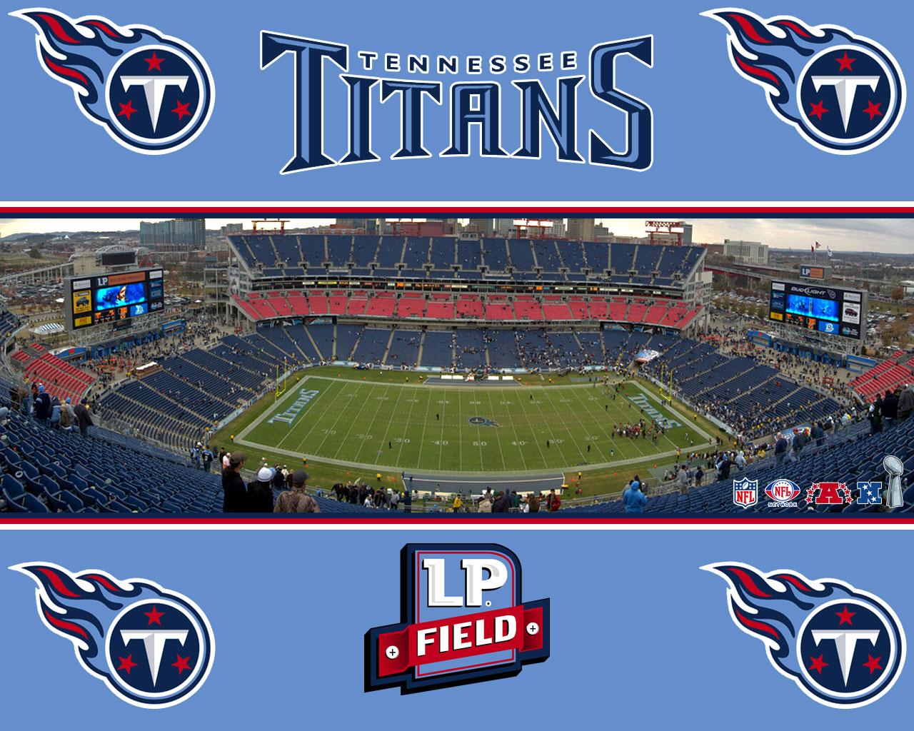 Lp Field Stadium Tennessee Titans Wallpaper