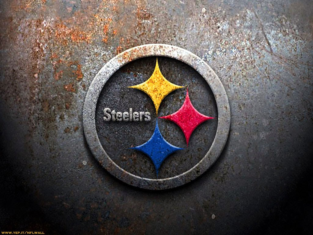 pittsburgh steelers wallpaper rust