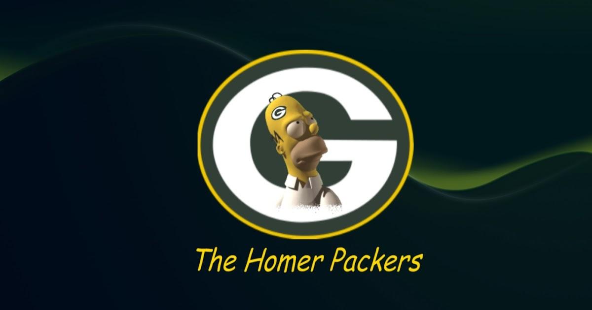 Green Bay Packers Logo Wallpaper Simpson