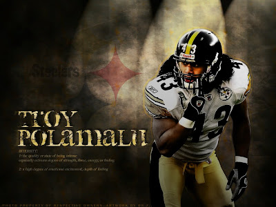 Polamalu Troy wallpaper, Steelers wallpaper