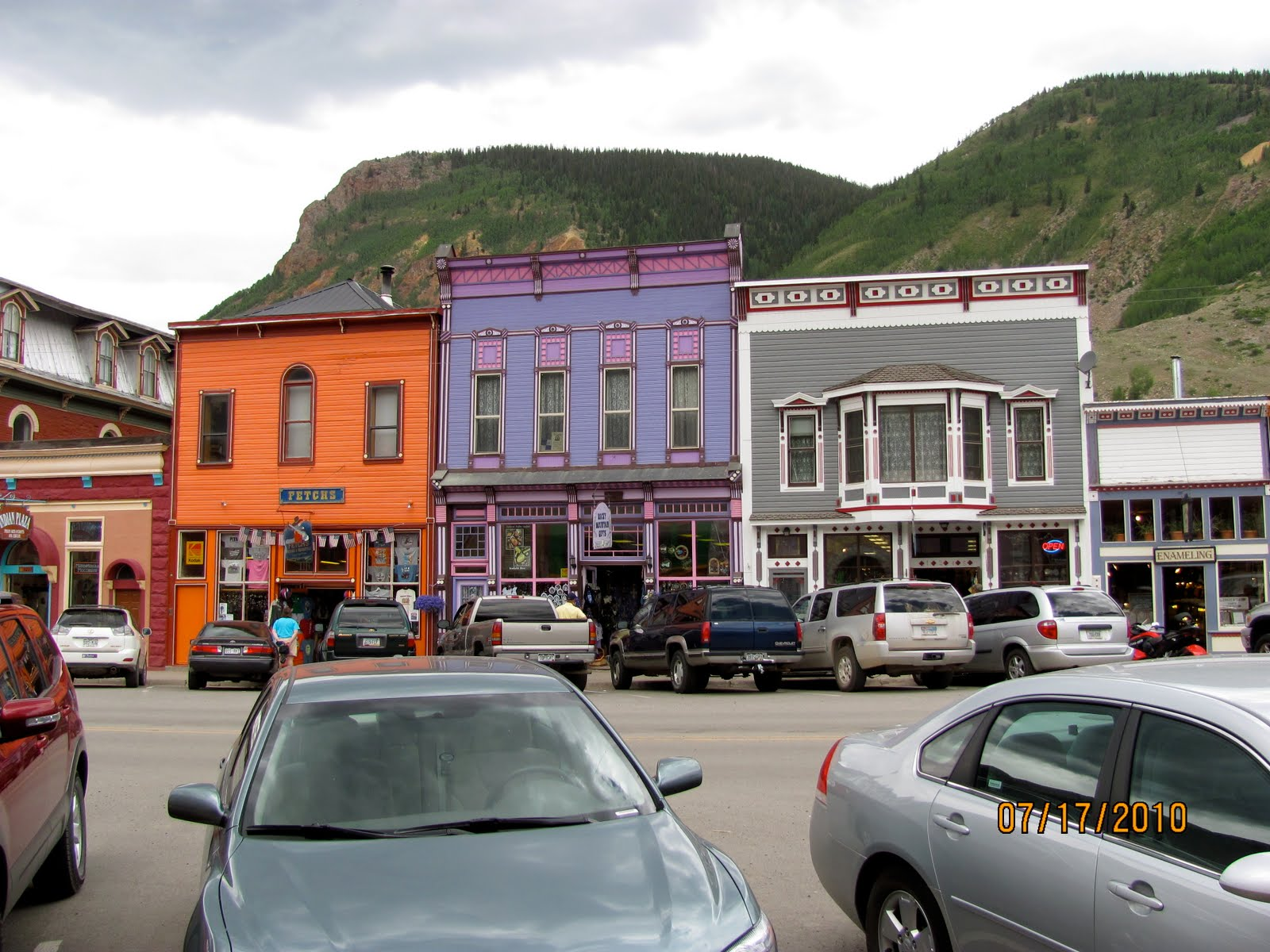 America by rv the million dollar highway and silverton for Million dollar motor homes