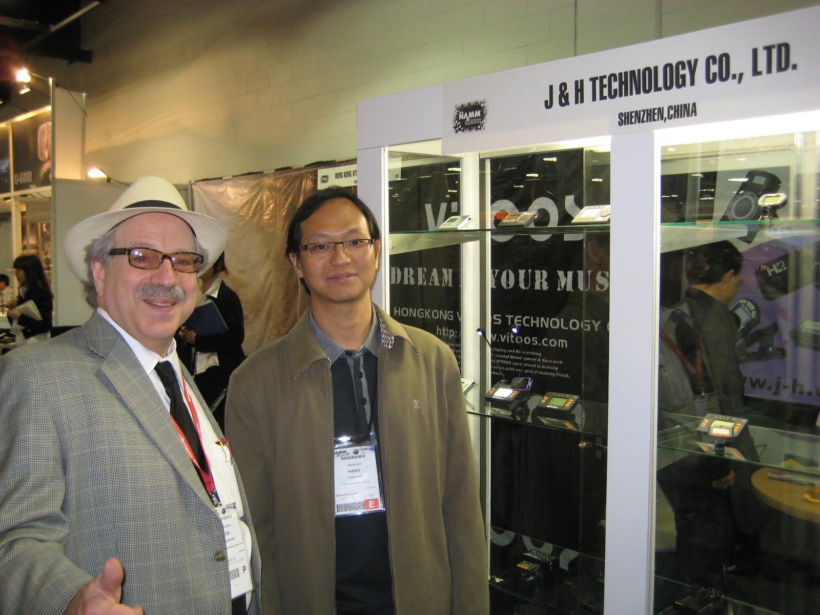 Jill Tseng Smarvo Pro Audio Corp Taipei City And Jon