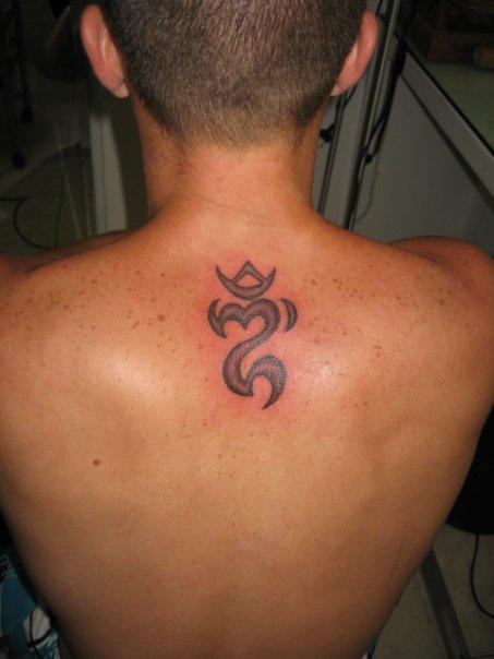 Ongkara Tattoo   Balinese Symbol