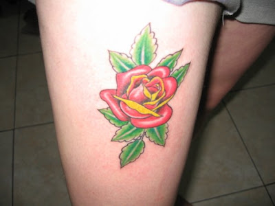rose tattoo nice girls