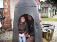 Hiding in a army museum - 2007