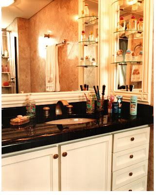 armários de banheiro fotos