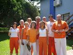 Participantes do Retiro Espiritual em Nova Petrópolis