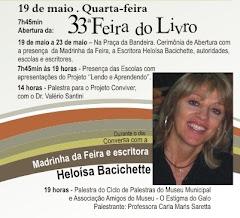 Madrinha da 33ª Feira do Livro de Flores da Cunha