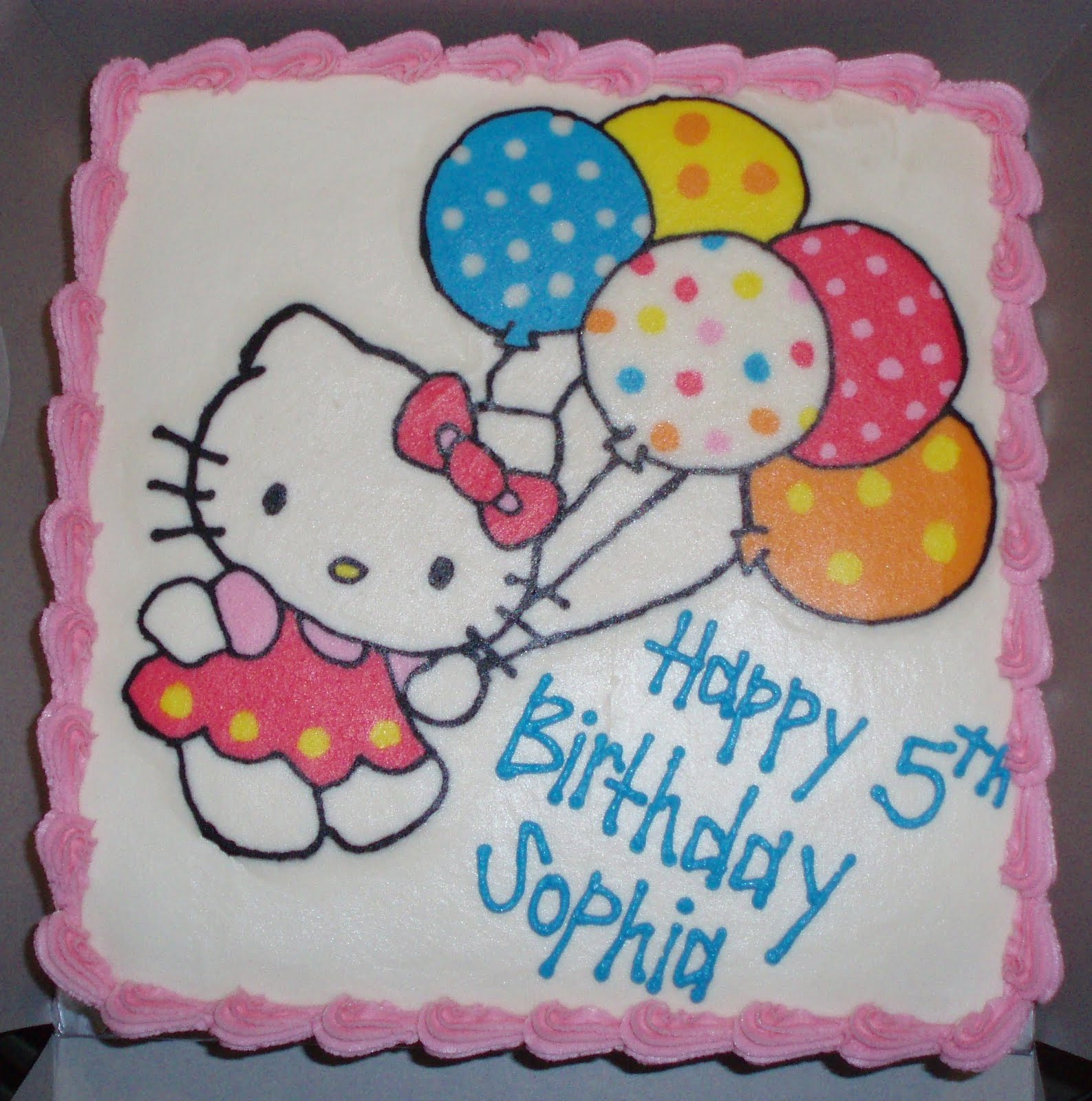 Hello Kitty Sheet Cake Images : Hello Kitty Birthday SAMANTHA S SWEET TREATS