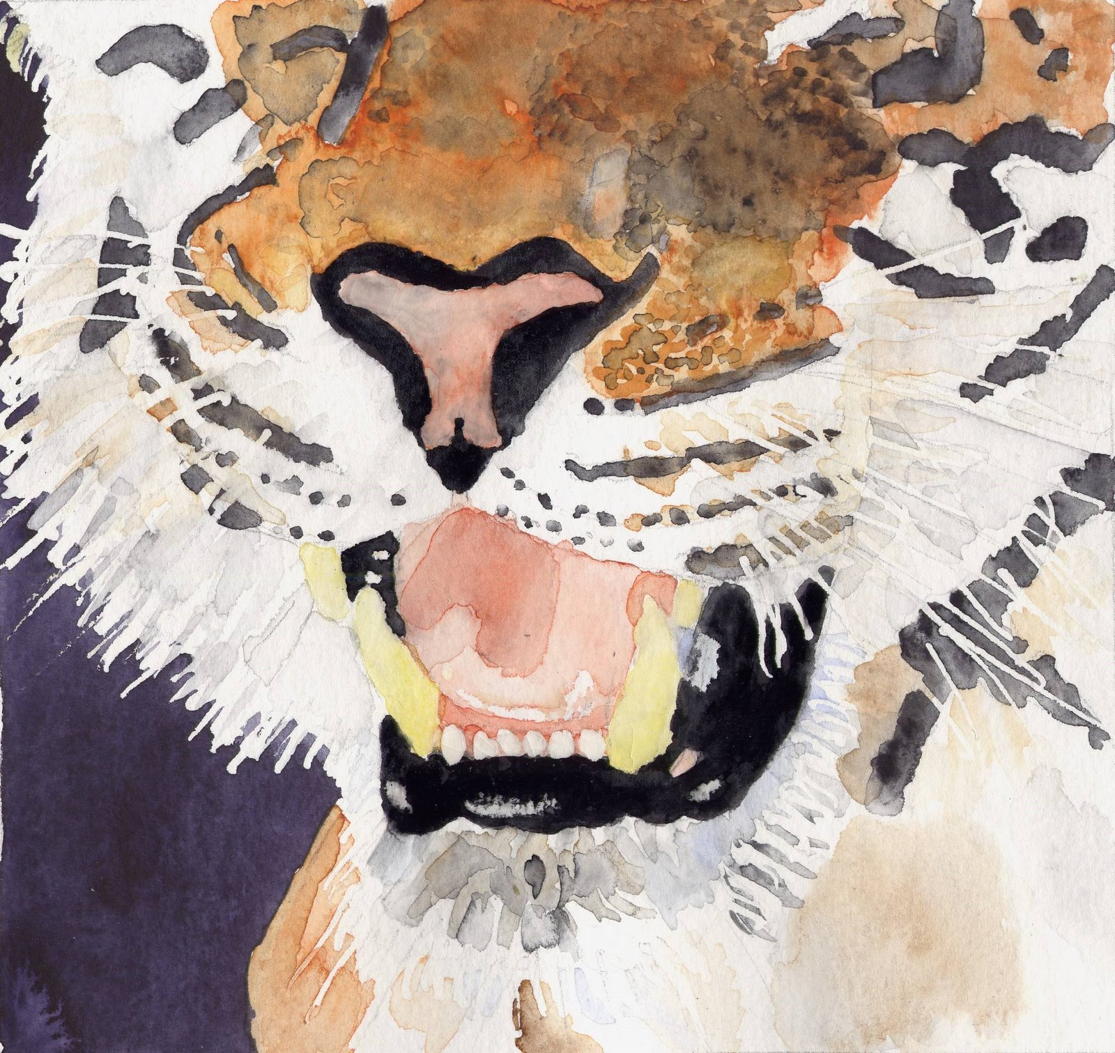[Watercolour+of+tiger]