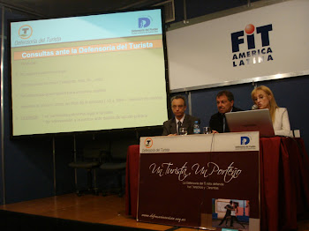 Defensora del Turista en la FIT 2010